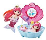 Little Mimi Mermaid Princess Shell Shower Room, Little Doll Toy