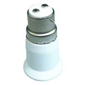 ALCYONEUS B22 to E27 Screw LED Lamp Holder Base Light Bulb Socket Converter Adaptor