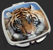 Bengal Tiger Make-Up Compact Mirror Stocking Filler Gift
