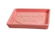 Au Bain De Marie Ceramic Soap Dish, Pink