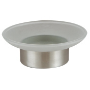 Axentia Naples Soap Dish, Bathroom Toilet Accessories Made Of Stainless Steel An