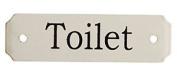 Au Bain De Marie Toilet Small Door Plaque