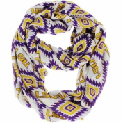 NCAA Licenced LSU Tigers Southwest Infinity Scarf