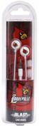 NCAA Louisville Cardinals Blast Earbud Headphones