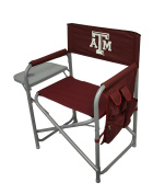 Texas A & M Aggies Folding Directors Chair With Table