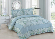 American Hometex Beverly King Quilt Set