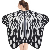 Mchoice Soft Fabric Butterfly Wings Shawl Fairy Ladies Nymph Pixie Costume Accessory