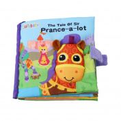 OrliverHL Cloth Book For Baby Child Cognitive Intelligence Education English Word Painting Toy ,Pony