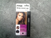 Cover Your Grey Mascaras for Women & Men Instant Grey Hair Touch-ups (Natural Black (888-01) by FYNE Grey Cover-Up