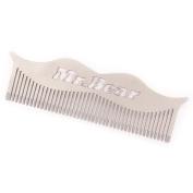 Mr Bear Family Stainless Steel Moustache Comb