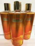 Victoria's Secret Amber Romance Body Wash Bundle of 3