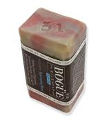 Bogue Goat Milk Soap- WELLNESS No31 Rejuvenating Blend- Uplifting Lemon & Peppermint, therapeutic Palo Santo & Clary Sage. Black Seed w Frankincense, Myrrh & Lavender to boost immune system & appetite