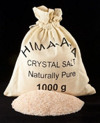 Himalayan authentic Edible Salt Coarse Grind 1kg. Natural and Pure