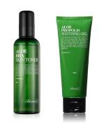 Benton Aloe BHA Skin Toner & Propolis Soothing Gel + FREE GIFT