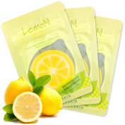 Lemon Hug Oil Vitamin C Cheek Patch [It's Skin], Face Forehead Cheek Mini Mask Patch Cooling Moisturising Refreshing Infused with Vitamin C for Dark Spots, 12 mL - 30 Patches
