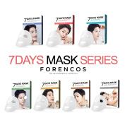 FORENCOS Seven 7Days Mask Sheets Series 25ml × 10Pcs Song Joong-Gi Daily Pack 7P