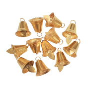 Golden Metal Bells: Size 2.5cm