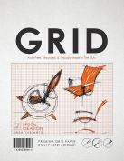 Premium Grid Paper for Pencil, Ink, and Marker. Great for Art, Design and Education. Loose Sheet Pack. (50 Sheets