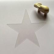 30cm Star Stencil, Large Star, 20 mil Thick Plastic, Reusable