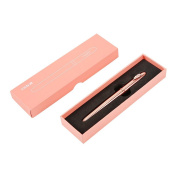 GDpowerseller M & G fountain pen Creative Metal Pencil Case Classic Pens Pink Girl