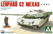 Takom - 1/35 Scale - Leopard C2 Mexas Canadian Mbt
