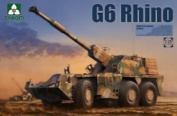 Takom Plastic Model Kit - G6 Rhino Tank - 1:35 Scale - 2052 - New