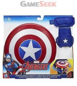 Avengers Marvel Captain America Magnetic Shield And Gauntlet - Toys
