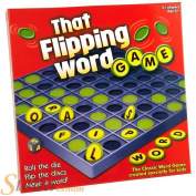 Paul Lamond That Flipping Word Game Childrens Dice Spelling Board Game