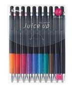 PILOT juice up 04 (micro thin 0.4 mm) 10 colour roller pen set 0.4 mm Juice up Super fine LJP200S410C