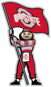 20cm Brutus OSU Ohio State University Buckeyes Removable Wall Decal Sticker Art NCAA Home Decor 10cm wide by 20cm tall