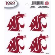 Washington State Cougars Logo Decal Sheet - 4 Decals