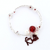 Seasons Jewellery Florida State Slogan Bracelet
