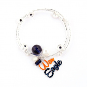 Seasons Jewellery Auburn Slogan Bracelet
