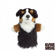 Living Nature - Bernese Mountain Dog - Hand Puppet - 25cm