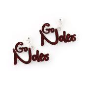 Seasons Jewellery Florida State Slogan Earrings