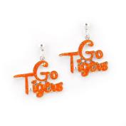 Seasons Jewellery Clemson Slogan Earrings