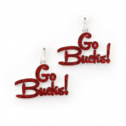 Seasons Jewellery Ohio State Slogan Earrings