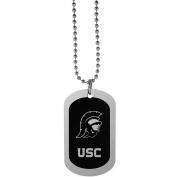 NCAA USC Trojans Chrome Tag Necklace, 70cm