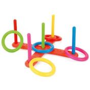 New Childrens Outdoor Cross Hoops Quitos Toy Garden Game Playset Summer Kids Fun