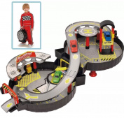 Foldable Wheel Garage Playset With Car Children's Toy For Kids