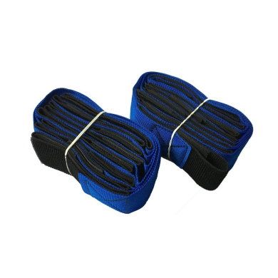 4-Legged Race Bands-5 Colours Blue Race Bands Race Game Party Games for Kids and Adults
