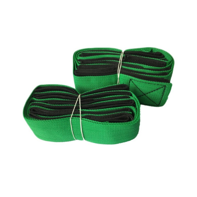 4-Legged Race Bands-5 Colours Green Race Bands Race Game Party Games for Kids and Adults