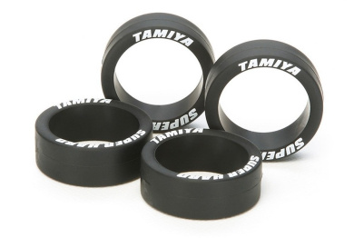 Tamiya Mini 4WD Special Products Super Hard low-height tyre black 95323