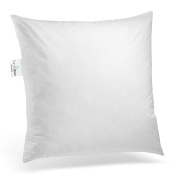 ComfyDown 95% Feather 5% Down, Square Decorative Pillow Insert, Sham Stuffer, 12 X 12 - MADE IN USA
