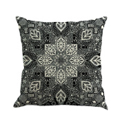 JUNKE Beautiful Geometry Painting Sofa Bed Home Decor Pillow Case Cushion Cover
