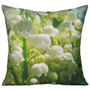 Lilys Of The Valley Bouquet Bells Spring Mood Unique Throw Throw Pillows For Couch 46cm X 46cm