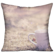 Close-up Coffee Minimalism Fun Throw Throw Pillows For Couch 46cm X 46cm