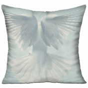 Dove Pigeon Fligh Sky Comfort Throw Pillows For Couch 46cm X 46cm