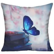 Butterfly Books Magic Art Unique Throw Sofa Pillows 46cm X 46cm