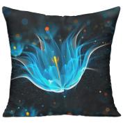 Abstraction Light Neon Glitter Fun Throw Decorative Pillow Covers 46cm X 46cm